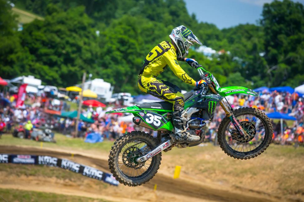 Forkner earned his first overall podium result of 2018 in second. - High Point National