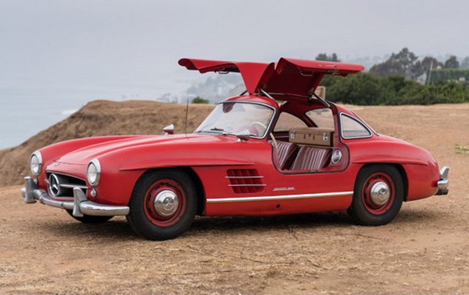 Gooding & Company - Pebble Beach - 1956 Mercedes-Benz 300 SL Gullwing