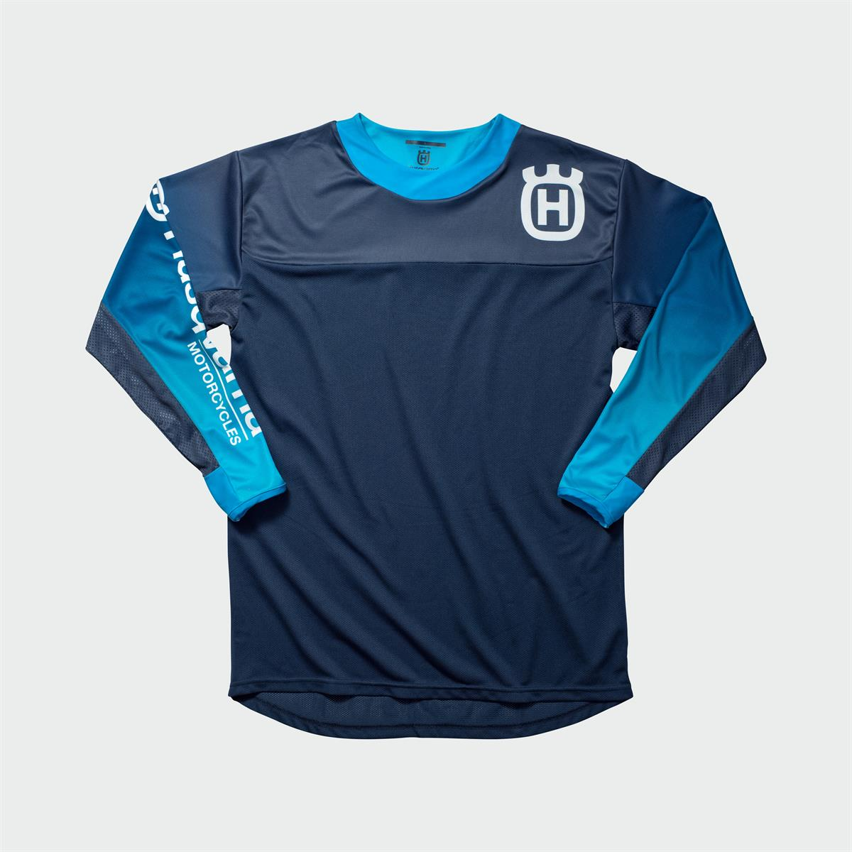 Husqvarna Functional Clothing - GOTLAND SHIRT BLUE