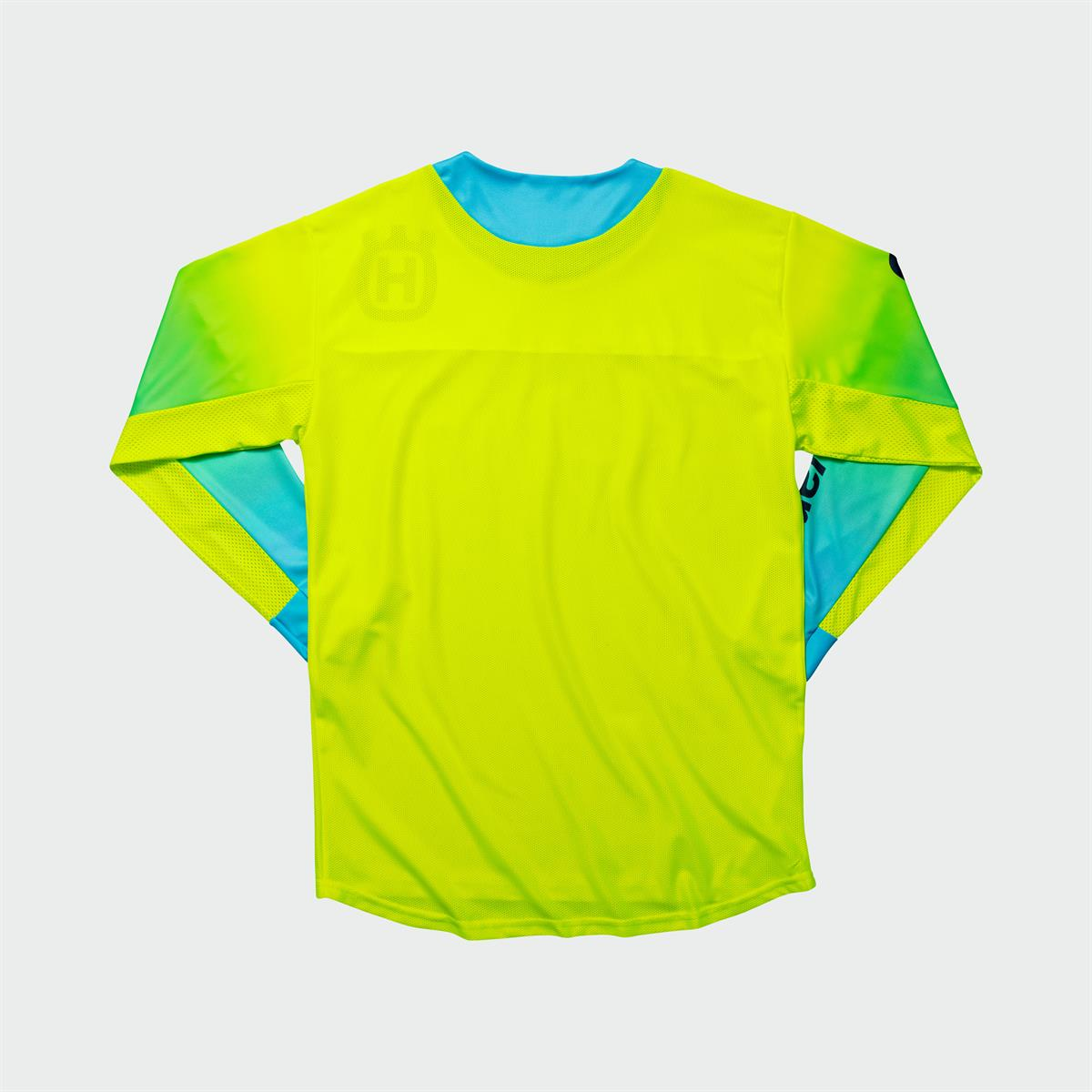 Husqvarna Functional Clothing - GOTLAND SHIRT YELLOW back