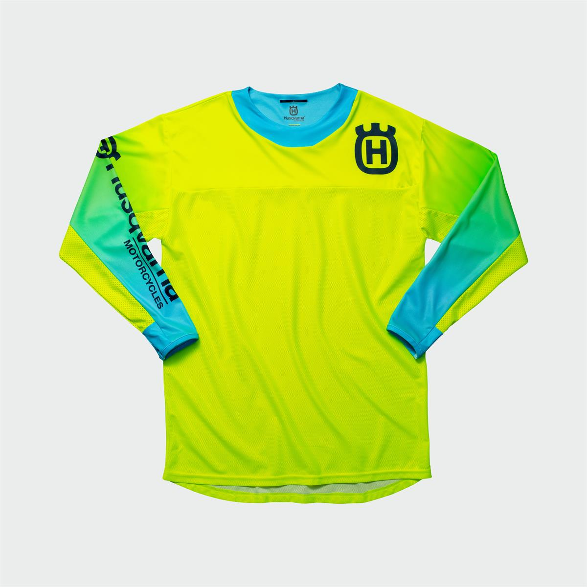 Husqvarna Functional Clothing - GOTLAND SHIRT YELLOW