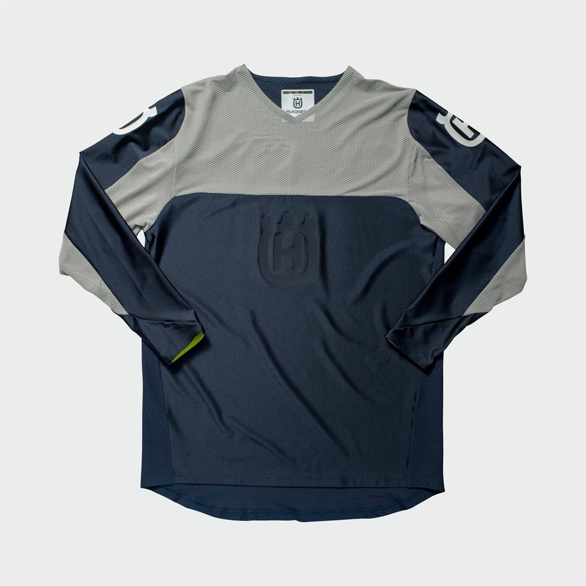 Husqvarna Functional Clothing - RAILED SHIRT BLUE