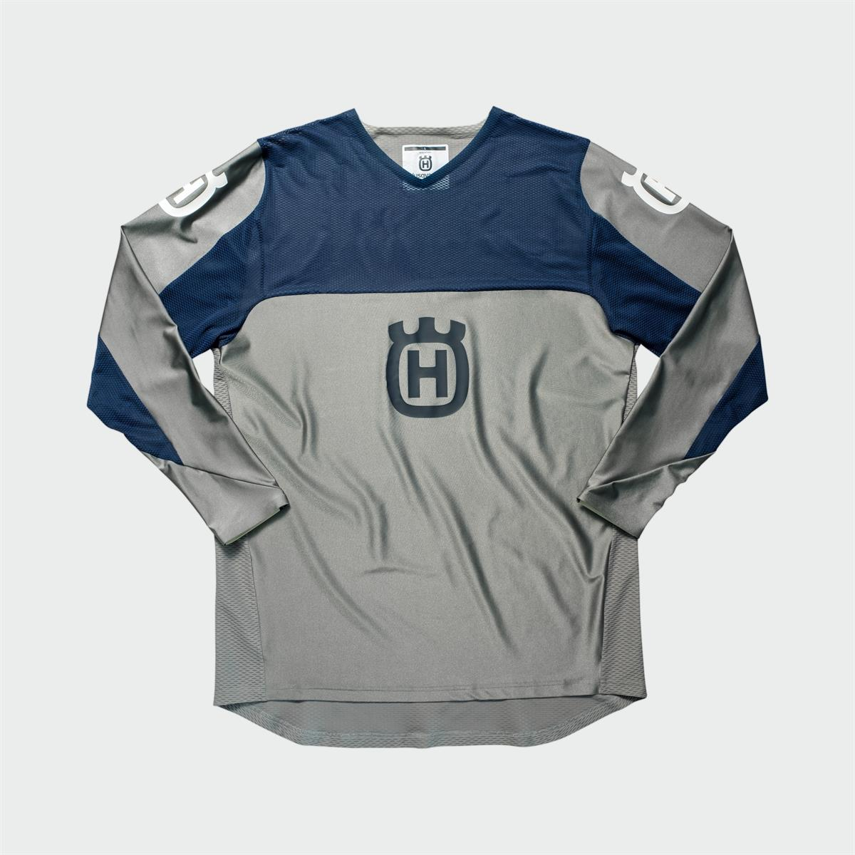 Husqvarna Functional Clothing - RAILED SHIRT GREY