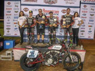 Indian Motorcycle Racing Secures Fifth Consecutive All-Scout FTR750 Podium