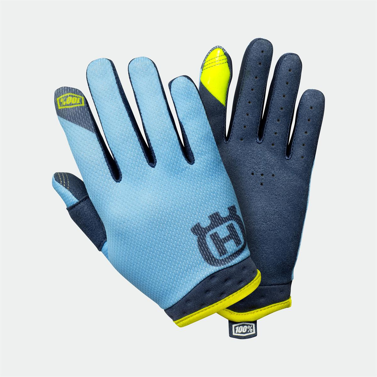 Husqvarna Motorcycles - 2019 Functional Clothing Kids Collection - KIDS ITRACK RAILED GLOVES