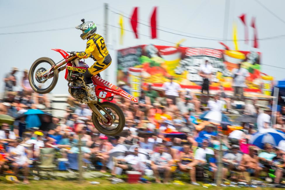 Martin suffered heartbreak in the second moto - High Point National