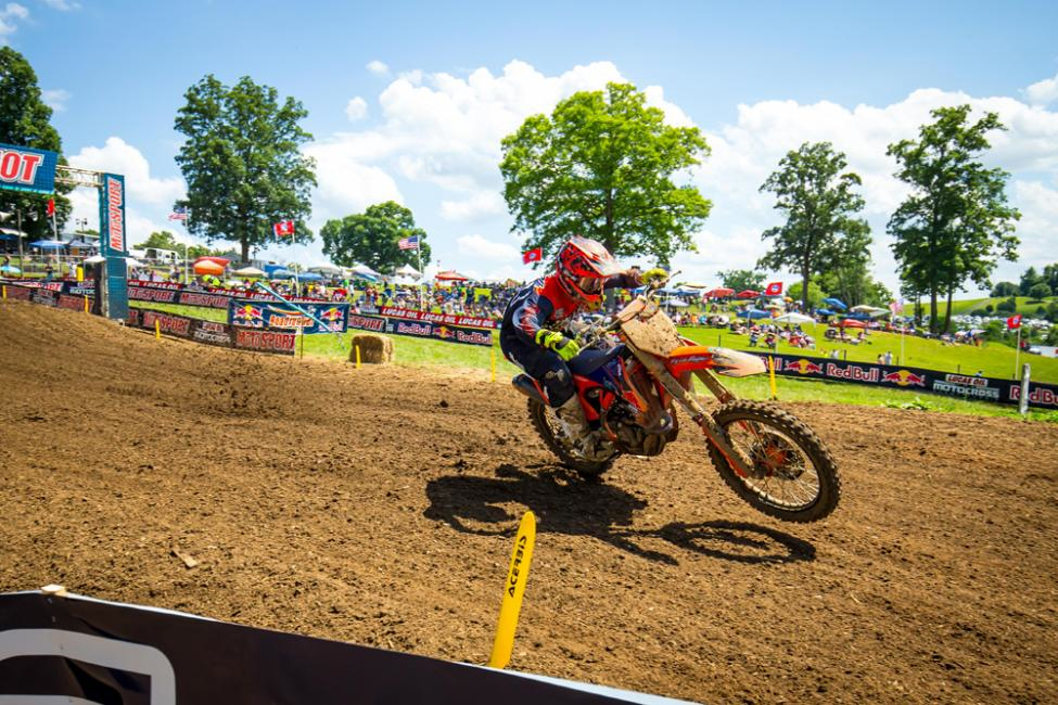 McElrath broke through for the first win of his career in the 250 Class. - Tennessee National