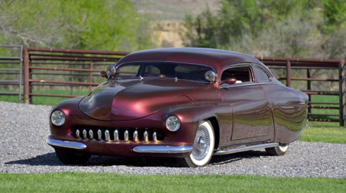 Mecum Auction - Denver - 1950 Mercury Custom Known as Heavens to Mercatroid (Lot F107)