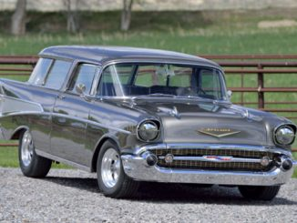 Mecum Auction - Denver - 1957 Chevrolet Nomad Fuel-Injected 350 CI Automatic (Lot F106)