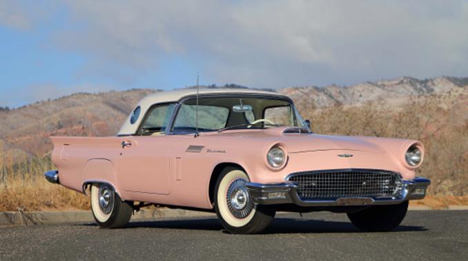 Mecum Auction - Denver - 1957 Ford Thunderbird 312 CI Automatic (Lot S33.1)