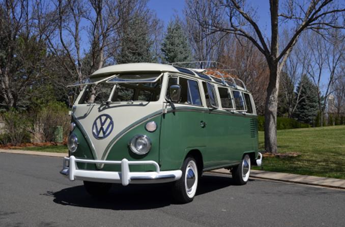 Mecum Auctions - Denver - 1966 Volkswagen 21-Window Samba Bus 1776cc 4-Speed Professional Restoration (Lot S51)