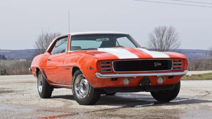 Mecum Auction - Denver - 1969 Chevrolet Camaro RS Z28 302-290 HP 4-Speed (Lot S100)