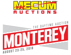 Mecum Monterey logo