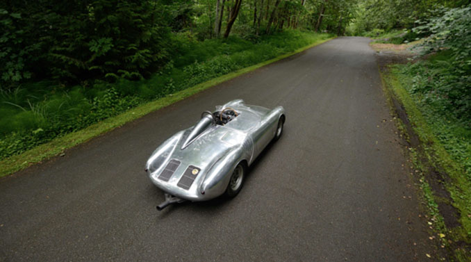 Mecum Monterey - 1958 Porsche 550A Spyder 1 of 39 Built 3 Wins During the 1958 Season