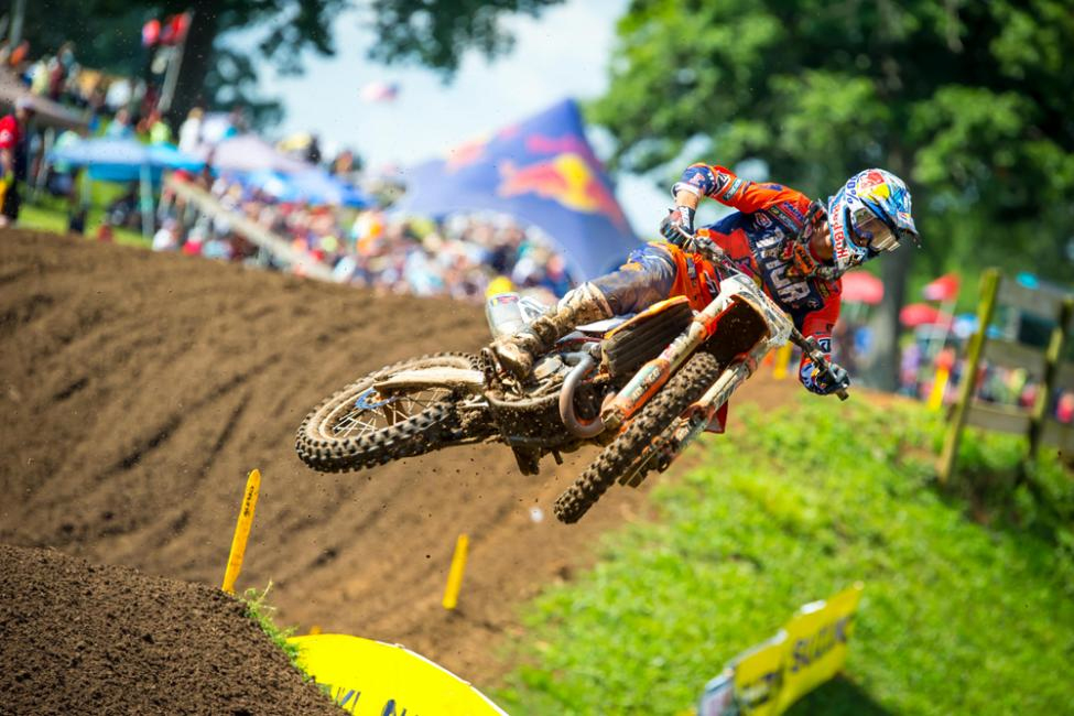 Musquin's second moto win carried him to third overall - Tennessee National