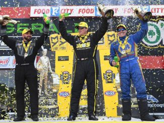 NHRA Thunder Valley Nationals Winners Circle