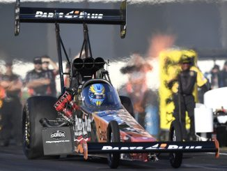 NHRA Top Fuel Clay Millican - action