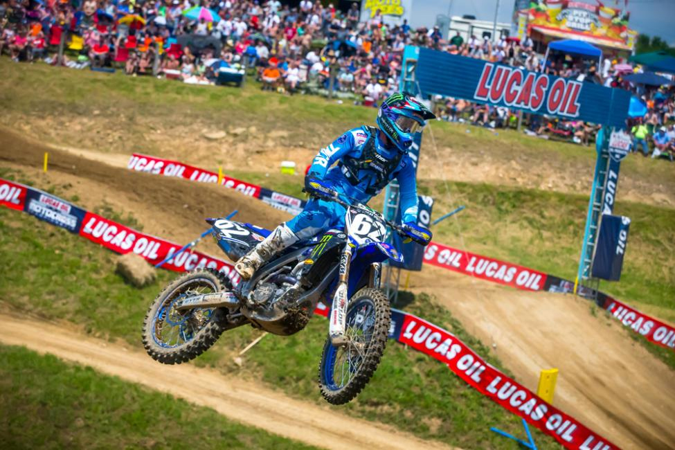 Rookie Cooper has now earned back-to-back finishes of third overall. - High Point National