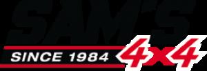 Sam's 4x4 logo