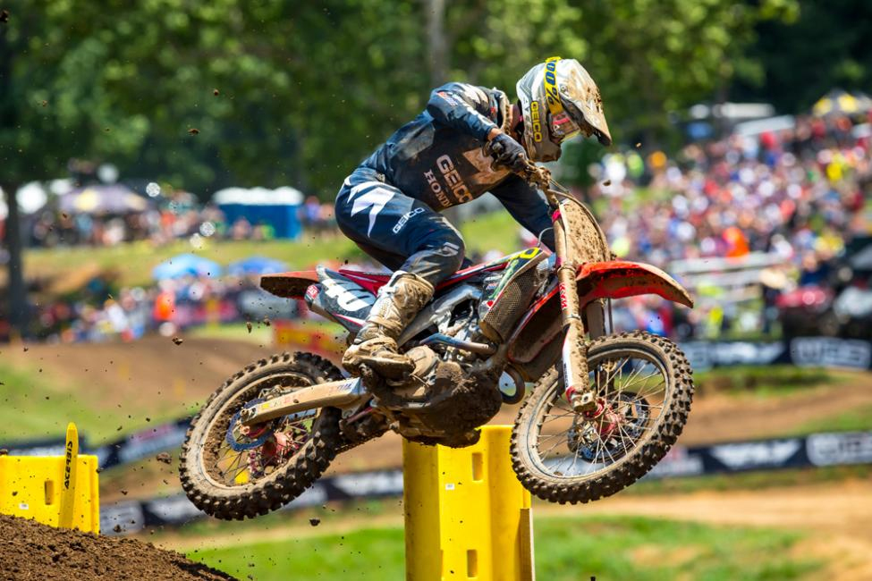 Sexton captured the first podium result of his career - Tennessee National