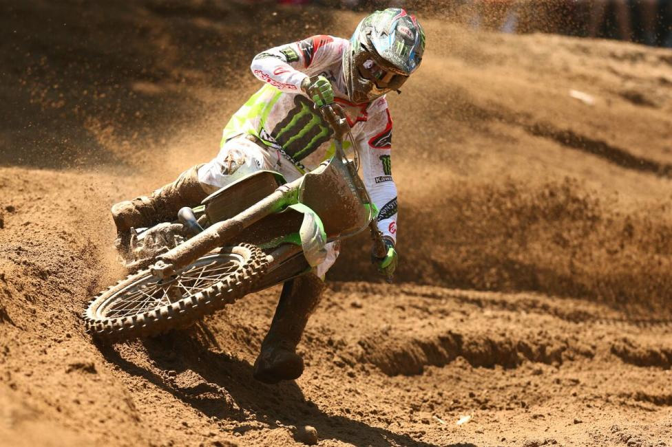 Southwick National - Eli Tomac was forced to settle for second overall