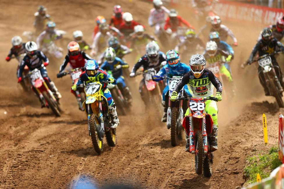 Southwick National - Shane McElrath swept the Motosport.com Holeshots on his way to third overall