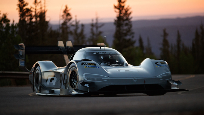 The Volkswagen I.D. R Pikes Peak is Volkswagen's first-ever, fully-electric race car. - ANSYS