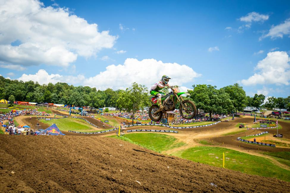 Tomac captured his fifth straight overall win