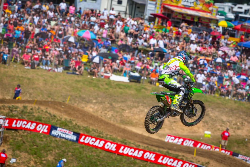 Tomac has won the overall at all four rounds thus far in 2018 - High Point National