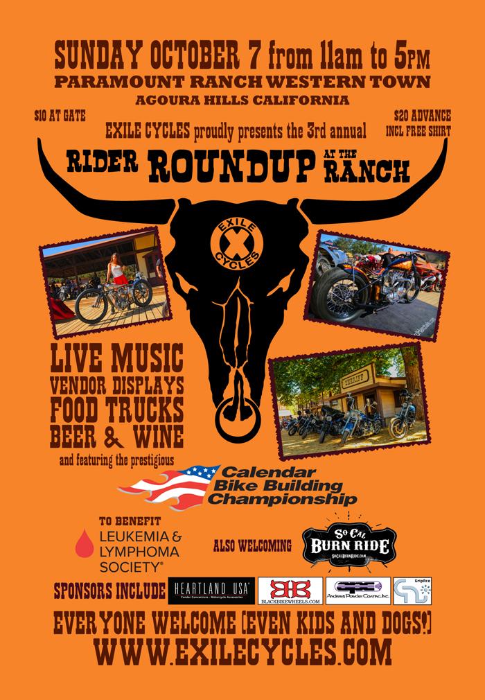 Rider RoundUp Flyer