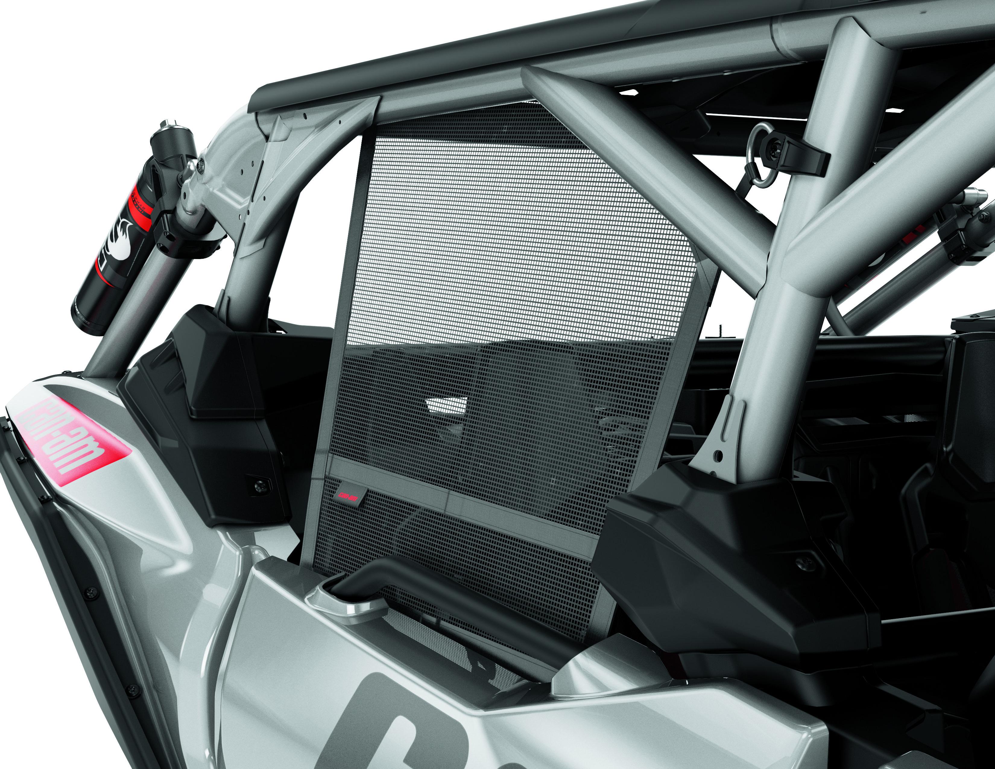 Can-Am Accessories - Window Nets — 715004926 (rear)