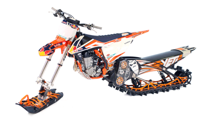 Snow Dirt Bike >> Camso Recalls Dirt To Snow Bike Conversion Kits Due To Crash And