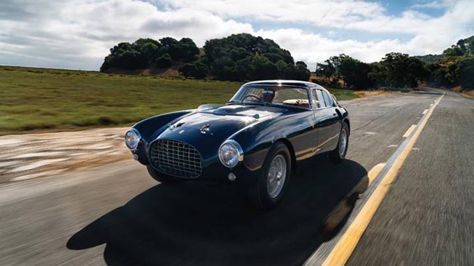 Monterey - 1953 Ferrari 250 MM Berlinetta (Credit – Karissa Hosek © 2018 Courtesy of RM Sotheby's)