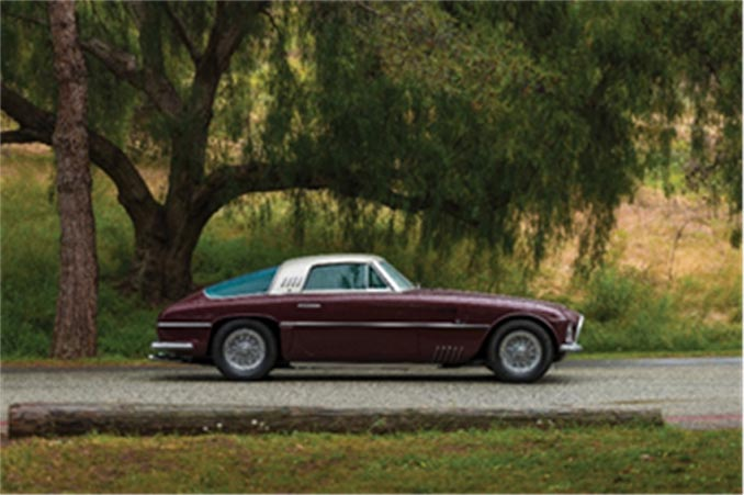 Monterey - 1954 Ferrari 375 America Coupe (Credit – Robin Adams © 2018 Courtesy of RM Sotheby's)