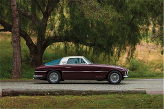 Monterey - 1954 Ferrari 375 America Coupe (Credit – Robin Adams © 2018 Courtesy of RM Sotheby's)