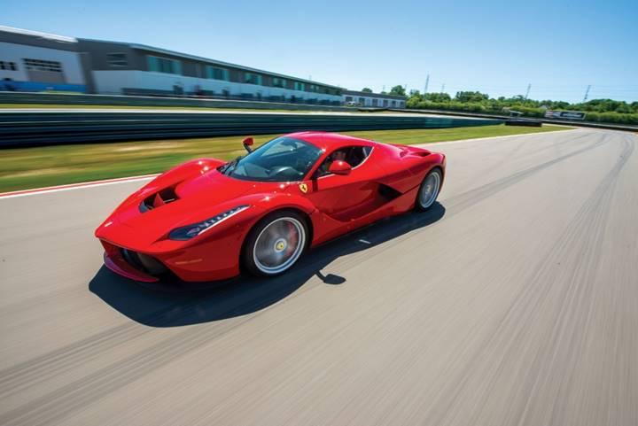 Monterey - 2014 Ferrari LaFerrari (Credit – Darin Schnabel © 2018 Courtesy of RM Sotheby's)