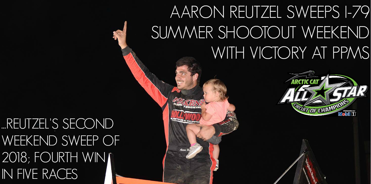 Aaron Reutzel sweeps I-79 Summer Shootout with victory at Pittsburgh