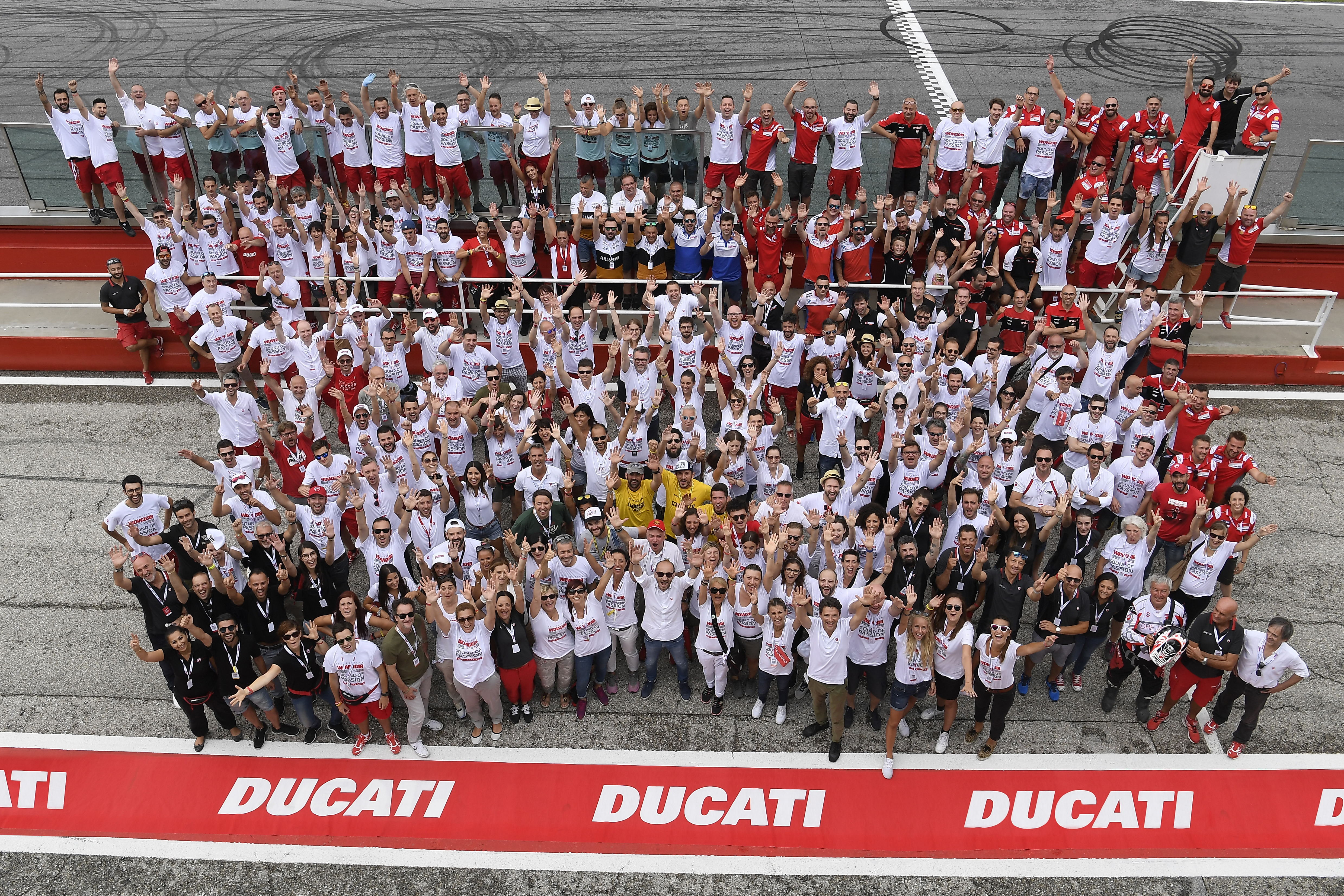 World Ducati Week 2018 Ducati Staff group