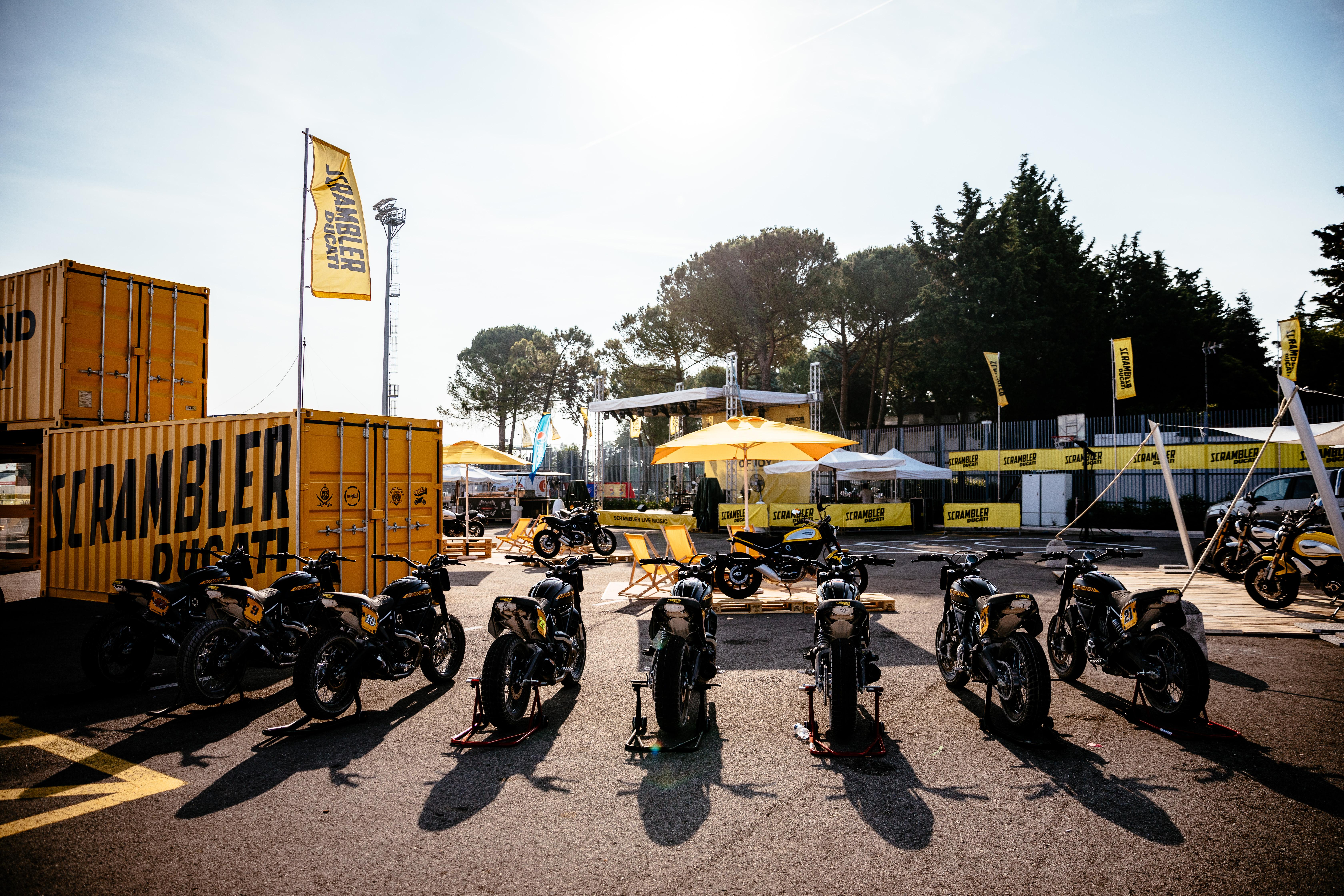 World Ducati Week 2018 Scrambler - Land of Joy