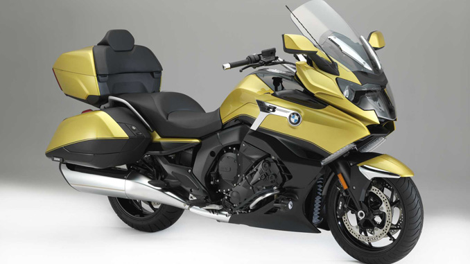 sturgis buffalo chip - demo the new bmw k 1600 grand america