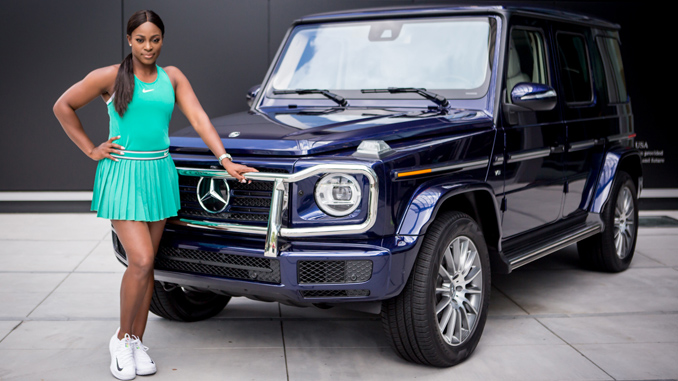 Mercedes benz announces sloane stephens as global brand for Mercedes benz global