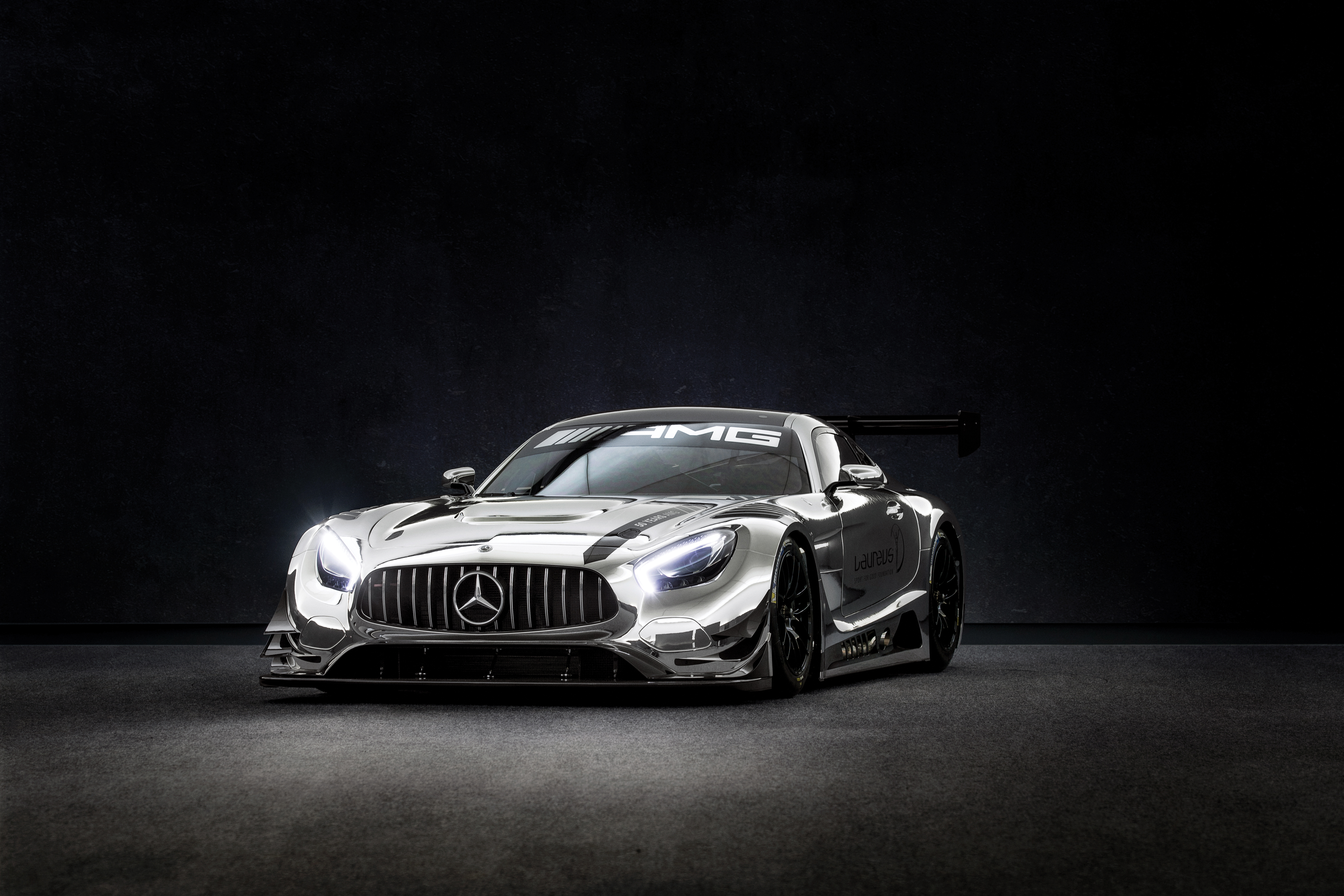 2017 Mercedes-AMG GT3 'Laureus', offered to benefit the Laureus Sport for Good Foundation (Courtesy of RM Sotheby's)