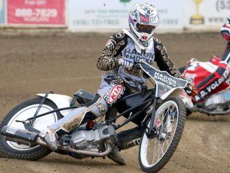 250cc Class champion Sebastian Palmese - 2018 AMA Speedway Youth National Championships (credit- Michael Kirby)