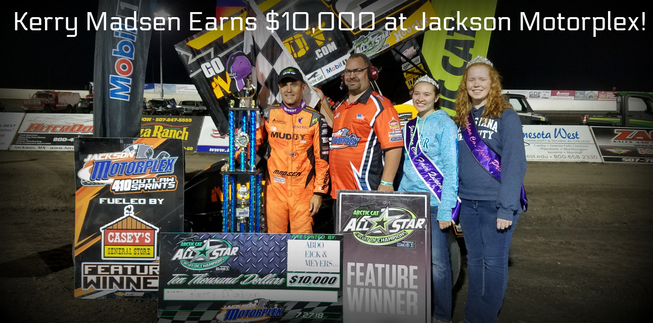 The Madman pockets $10,000 during All Star visit to Jackson Motorplex