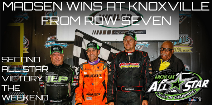 Kerry Madsen goes back-to-back with the All Star Circuit of Champions