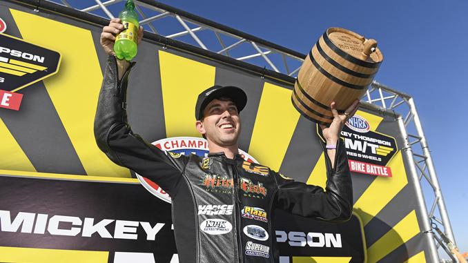 Mickey Thompson Tire Pro Bike Battle