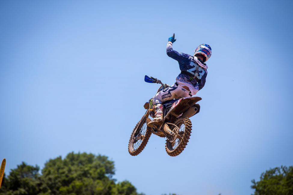 Aaron Plessinger swept both motos - RedBud