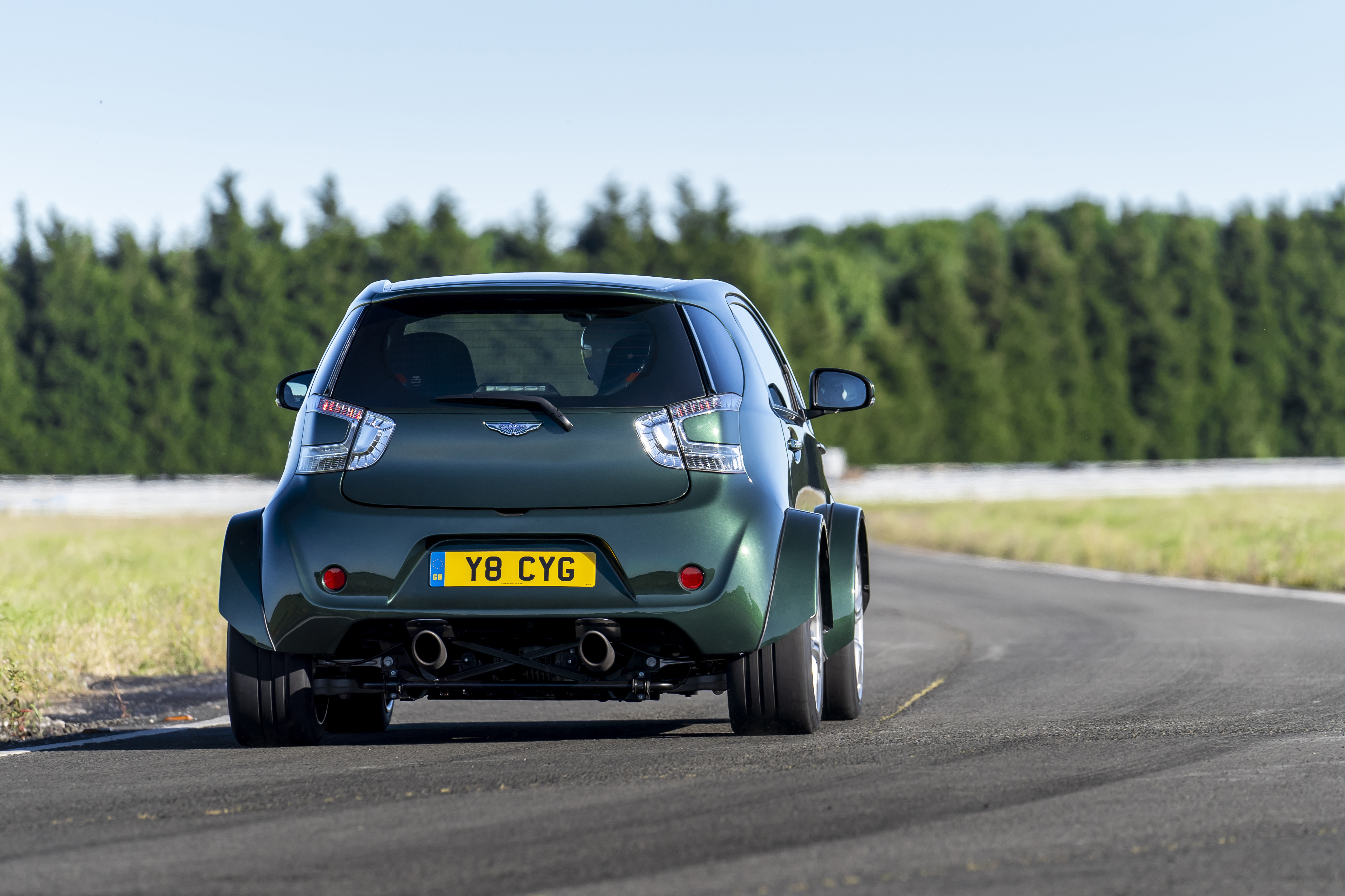 Aston Martin V8 Cygnet- The Ultimate City Car