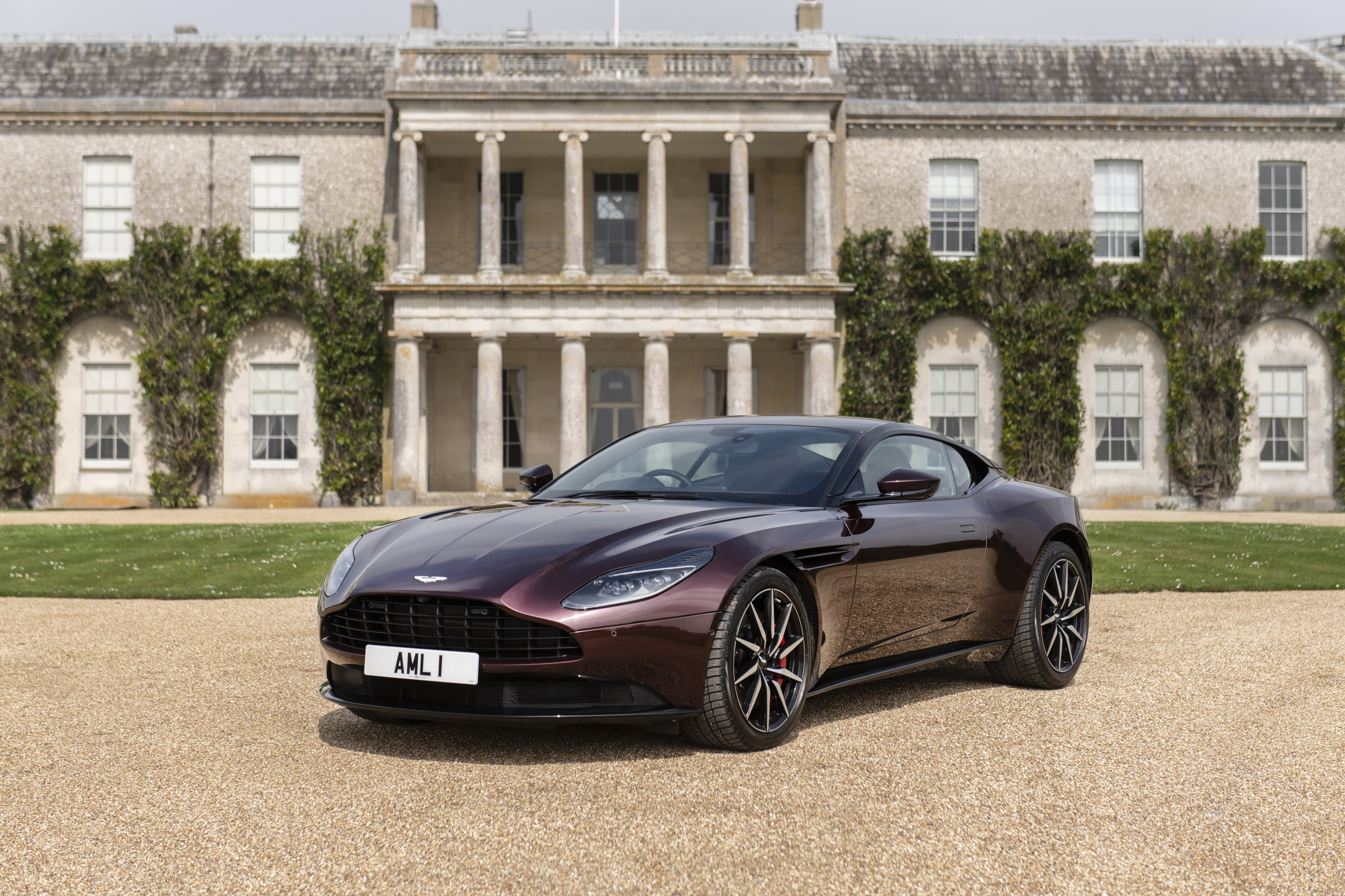 Aston Martin V8-powered DB11