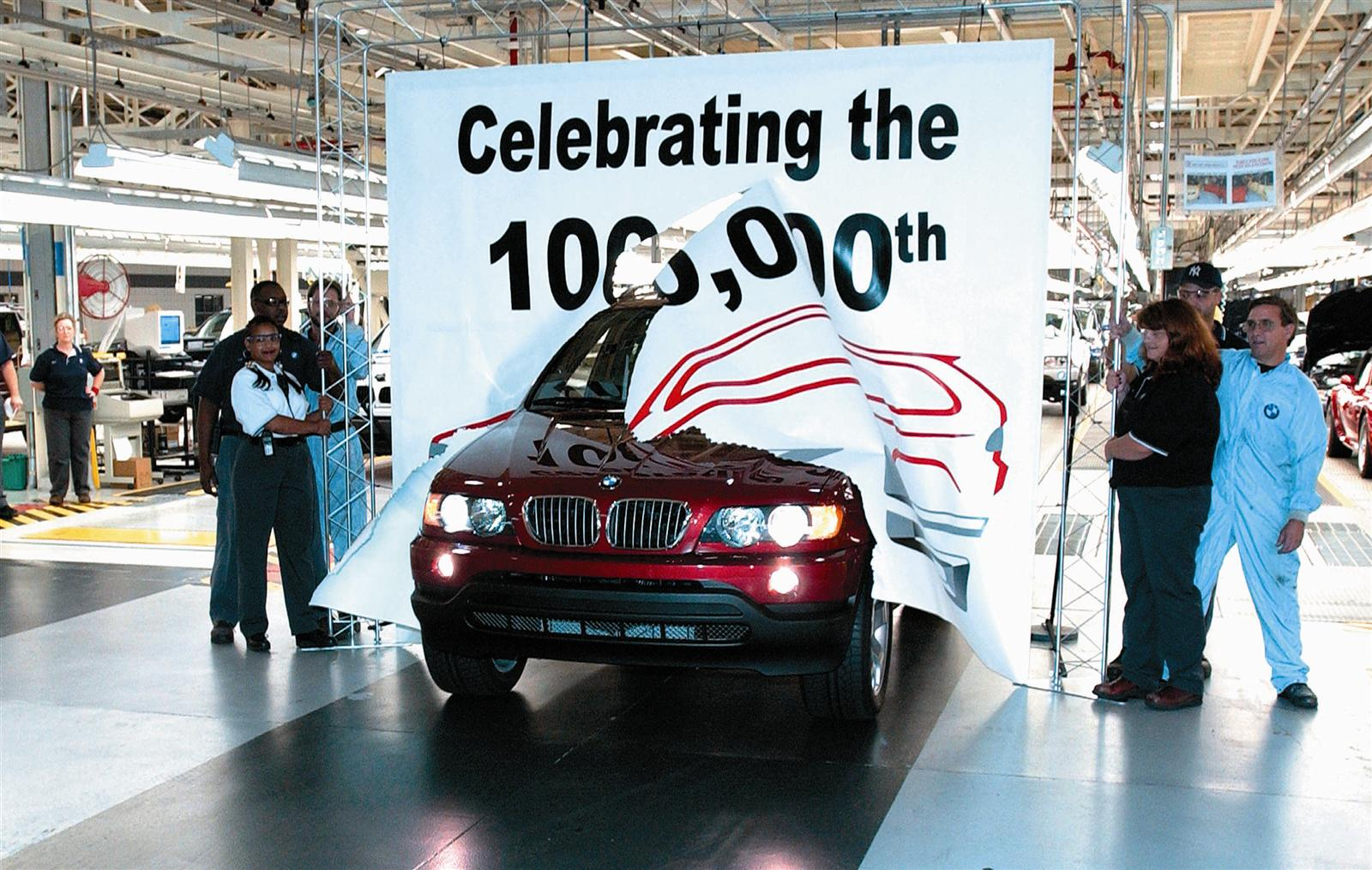 BMW Plant Spartanburg making final preparations to begin production of all-new BMW X5